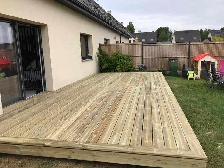 Terrasse pin classe IV